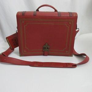 Olde Book Think Geek Book Bag Laptop Messenger